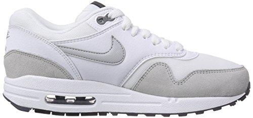 Nike - Air Max 1 Essential, Sneakers da donna bianco (White/Grey Mist-Dark Grey-Black 111)