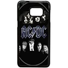 Samsung Galaxy Note 5 Edge Cell Phone Case Black AC DC Rock Heavy Metal Band Custom Case Cover A11600706