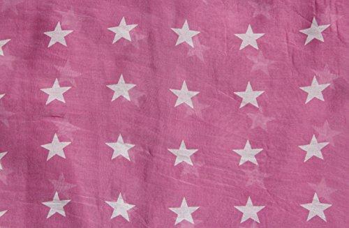 tpa - Foulard - Femme Pink-Weiß