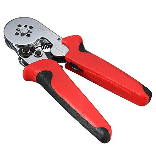 Werse 0,25-10mm2 selbsteinstellende Terminal Kabelbaum Crimpzange Ratsche Werkzeug