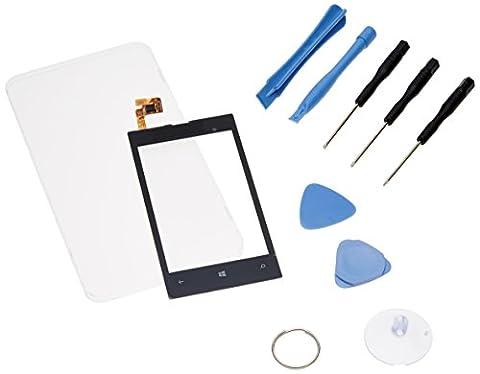 Ecran Tactile Lumia 520 - Ecran vitre tactile ecran remplacement pour Nokia