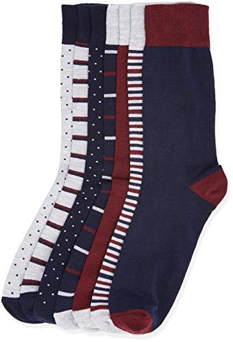 Ideales para Zapatillas Deporte Dise/ños Originales y Colores Mixtos Talla 40-46 Calcetines Cortos El/ásticos Trabajo etc. Intim Secret Pack 6 Aleatorios Calcetines Tobilleros para Hombre