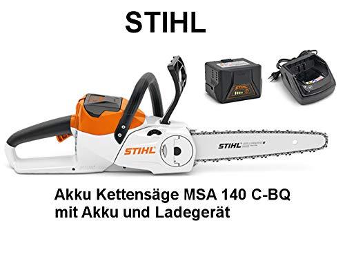 Stihl MSA 140 C  Akku-Kettensäge Test