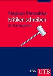 Kritiken schreiben: Ein Trainingsbuch