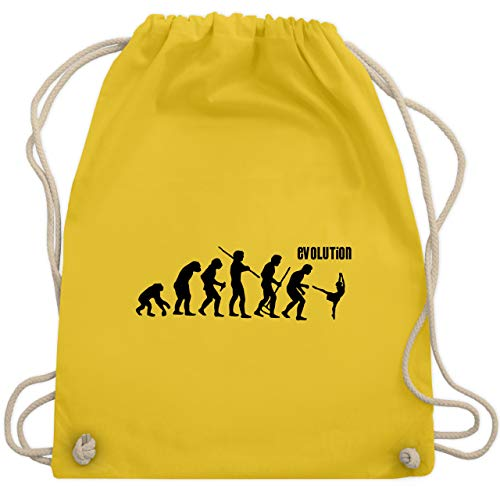 Evolution - Modern Dance Evolution - Unisize - Gelb - WM110 - Turnbeutel & Gym ()