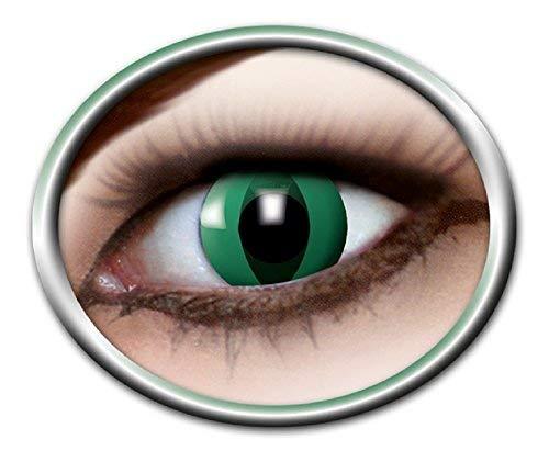 Kostüm Anaconda - Eyecatcher Motivlinsen - farbige 3-Monats-Kontaktlinsen - anaconda m08