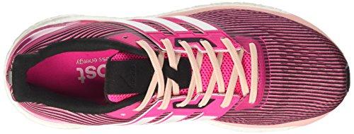 adidas Damen Supernova Laufschuhe, Grau Pink (Rosimp/ftwbla/negbas)