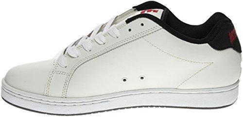 Etnies FADER Herren Skateboardschuhe White Black Red