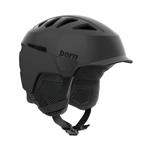Bern Herren Heist Helm, schwarz matt, M