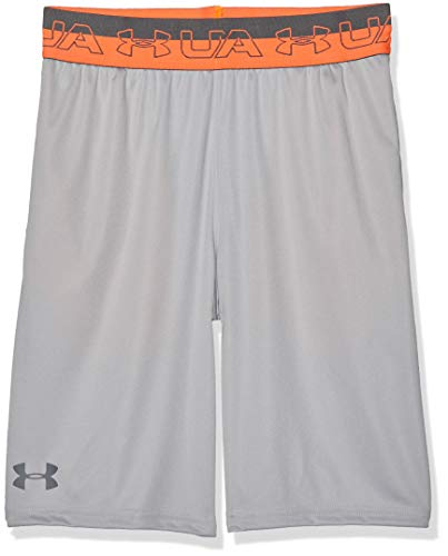 Under Armour Jungen Prototype Elastic Short Kurze Hose, Grau, YMD