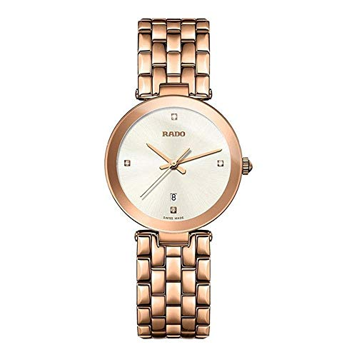 Rado Women's Florence Diamonds 28mm Quartz Silver-Tone Dial Watch R48873734