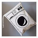 ZXXFR Klappbarer Wäschekorb Cartoon Lagerung Fass Ständigen Spielzeug Kleidung Lagerung Schaufel Wäscheservice Organizer Halter Tasche Haushalt, Waschmaschine