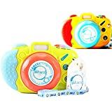 Akhand Set of 2 Light and Musical Mini Camera Toy for Kids with Animal Sounds
