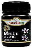 Miele di Manuka 400+ MGO 250 gr. Prodotto in Nuova Zelanda, Attivo e Grezzo, Puro e Naturale al 100%. Metilgliossale Testato da Laboratori Accreditati.