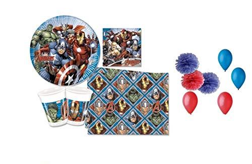 irpot Avengers Assemble Geburtstagsparty Set N. 49F (Die Avengers Geburtstagsparty)