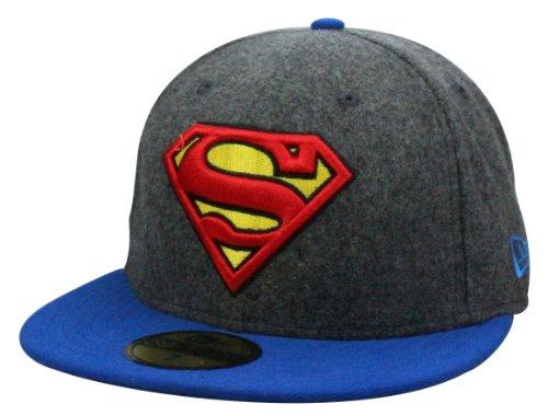 Casquette New Era Superman Cap Hero Melton | Taille: 7 1/2