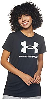 Under Armour womens Live Sportstyle Graphic Short Sleeve Crew Neck Short Sleeve