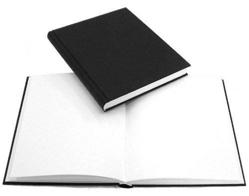 176 Seiten 21 x 21 cm Hardcover Skizzenbuch / Skizzenkladde / Skizzenpapier, mit schwarzem Einband