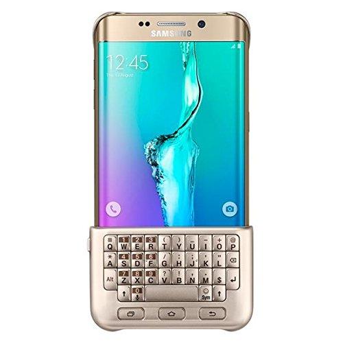 Samsung EJ-CG928 Gold- QWERTZ Tastatur Cover für das Galaxy S6 Edge PLUS (nur für das große Edge PLUS)