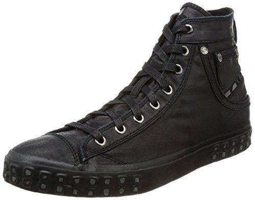 Diesel Herren Magnete Exposure I-Sneaker Y00023 Hohe, Schwarz (Black), 43 EU