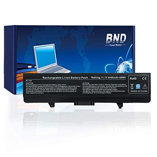 BND Laptop Akku [mit Samsung Zellen] für Dell Inspiron 1440 1525 1526 1545 1546 PP29L PP41L Serie Vostro 500, passend für RN873 / X284G / M911 / M911G / GW240 / RN873 / K450N [4400 mAh 6 Zellen] - Inspiron 1526 Serien Laptop