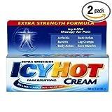Die besten Arthritis Cremes - 2x ICY HOT Extra Strength Pain Relieving Cream Bewertungen