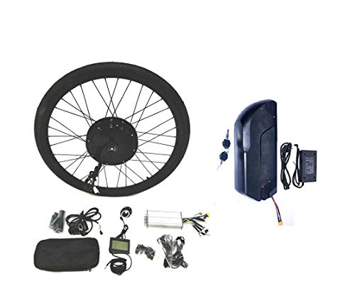 theebikemotor LCD + Tire + 48V1500W Hub Motor Kit...