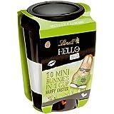Lindt HELLO To Go Becher, gefüllt mit 10 Mini Bunnies (à circa 10 g) aus zarter Vollmilch-Chocolade, 100 g