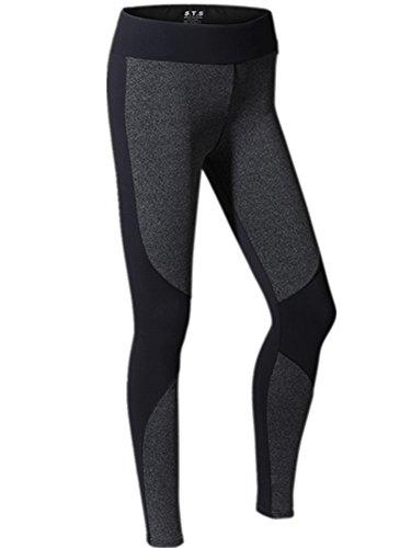 YeeHoo Women's Quick Dry Stretch Sport Running Yoga Strumpfhose Leggings