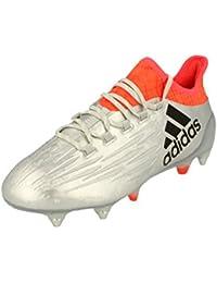adidas X 16.1SG Football Boots, Color Plateado, Talla 9