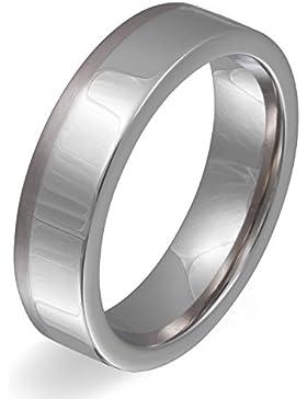 Titan trifft auf Edelstahl ! Hochzeitsring, Ehering, Verlobungsring