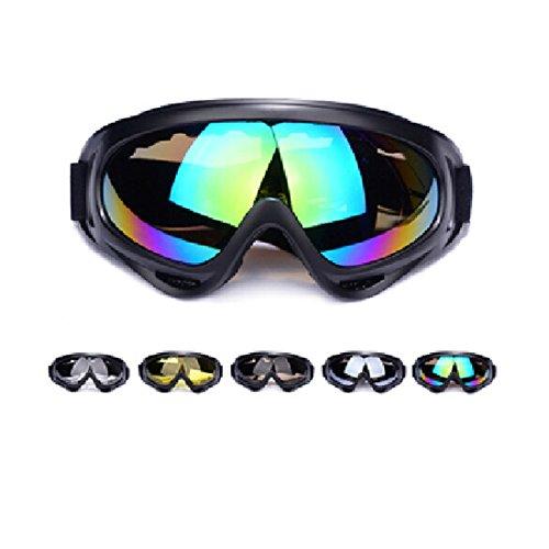Andux Zone Jagd Airsoft X400 Wind Staubschutz Tactical Schutzbrille-Motorrad Brille GL-04 (5pcs/set)