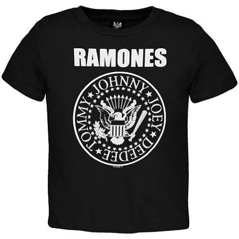 Ramones - Baby-boys Seal Toddler T-shirt - 3T Black
