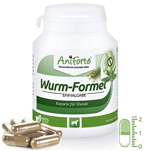 AniForte Wurm-Formel 100 Kapseln- Naturprodukt für Hunde