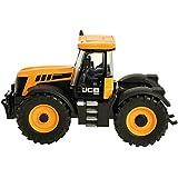 Britains - Tractor JCB 8230 Fastrac, color amarillo y negro (TOMY 42762)