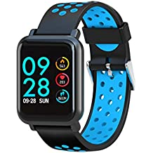 LEOTEC Multisport Helse - Smartwatch, Color Azul