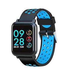 Leotec MultiSport Helse – Smartwatch, color azul
