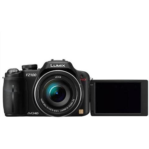 Panasonic Lumix DMC-FZ100EG-K Fotocamera Digitale 14.1 Megapixel [Importato da Germania]