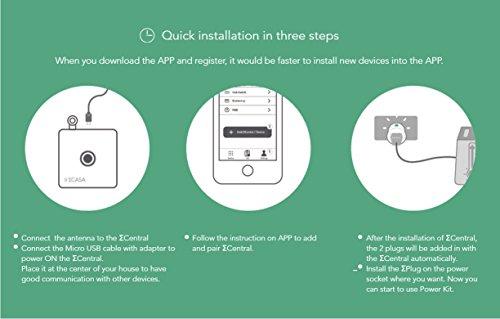 Sigma Casa Smart Power Kit – Einstieg für Smart-Home Haus-Automatisierung mit Smart Gateway und 2x Smart Power Plug – intelligente Steckdose (Messung Energieverbrauch) als Zeitschaltuhr oder zur Fern-Steuerung Ihrer Haushaltsgeräte - 8