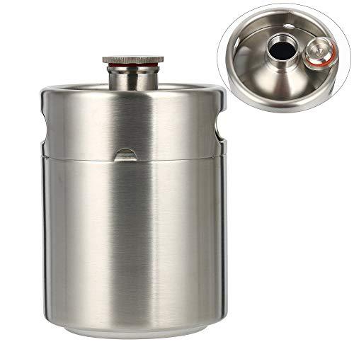Beer Barrel mini Keg Style Growler acciaio INOX birra forniture contiene birra doppi manici per casa campeggio picnic