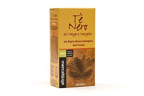 Altro Mercato Tè Nero al Mango e Vaniglia Bio - 40