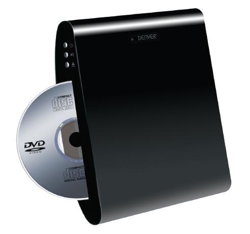 Denver DWM-100USB DVD-Player (HDMI, USB, Wandmontage)