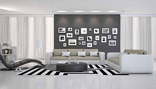 SalesFever Moderne Sofa-Garnitur 245 x 90 cm Sahoria