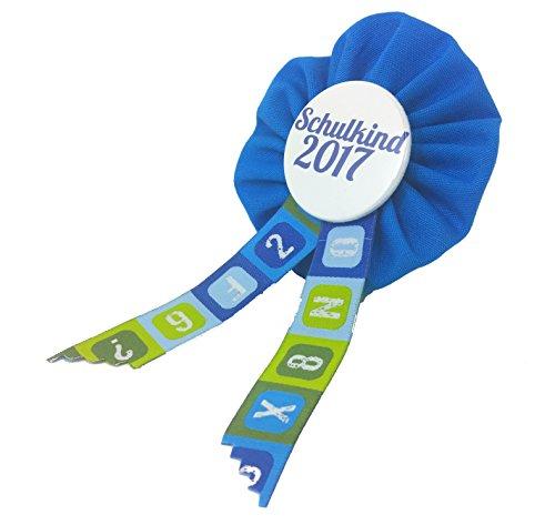 Preisvergleich Produktbild AnneSvea Orden Schulkind 2017 blau Einschulung Schultüte Zuckertüte Deko Geschenk Mitbringsel