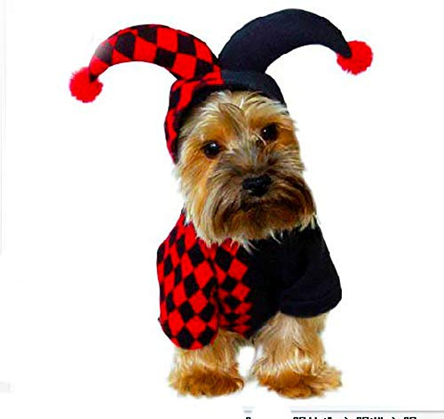 le hund kleidung weihnachten halloween herbst und winter -D L ()