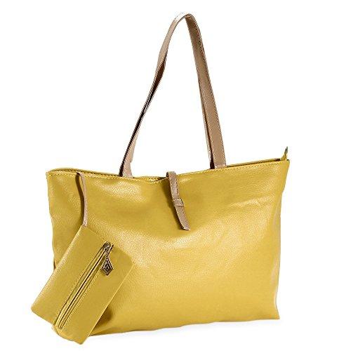 Excellent shop ,  Damen Tasche gelb