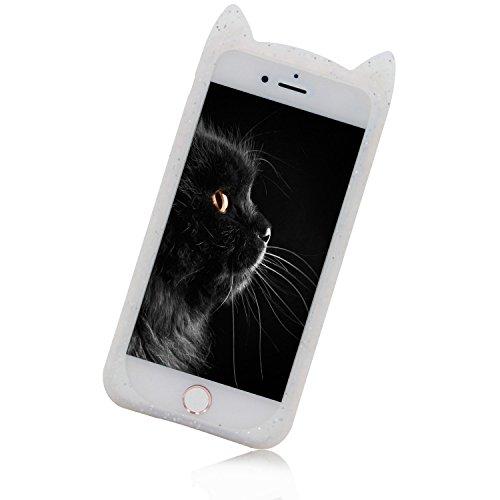 Case iPhone 6S, iPhone 6 Cover, Bonice Lusso Cristallo Diamante Strass Glitter Bling [Rotazione Grip Ring Kickstand] Morbida Bordo in Silicone Posteriore a Specchio Telefono con Supporto Dellanello C Pattern 12