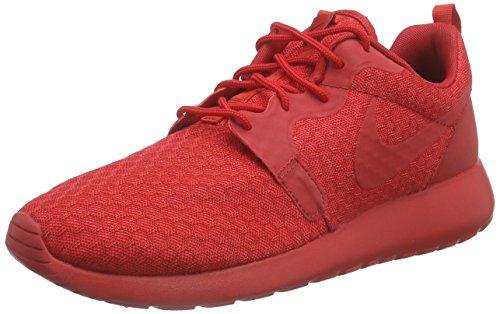 Nike Roshe One Hyperfuse, Scarpe da Ginnastica Uomo Rosso (Rot (UNIVERSITY RED/UNVRSTY RED-BLK))