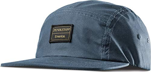 Emerica Pendleton 5 Panel Camp Hat -Fall 2018-(6140001109-041) - Slate - One Size