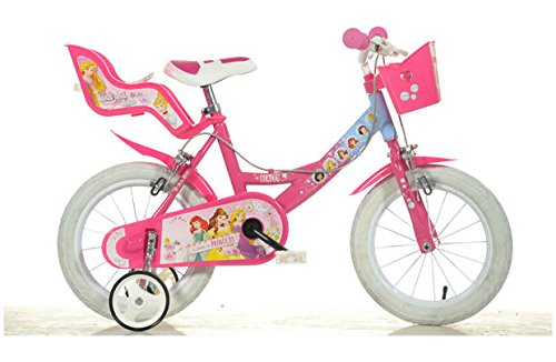 Dino Bikes 164R-PSS 16-Inch Disney Princess Bicycle